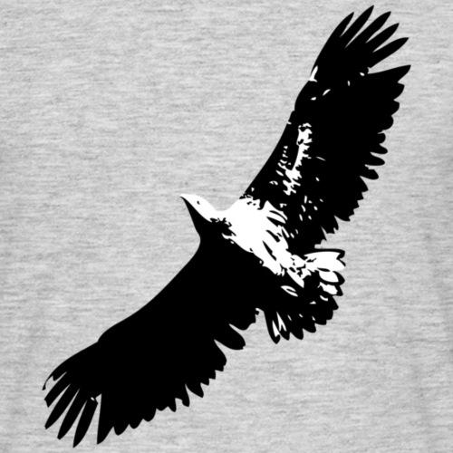 Fly like an eagle Adler - Männer T-Shirt