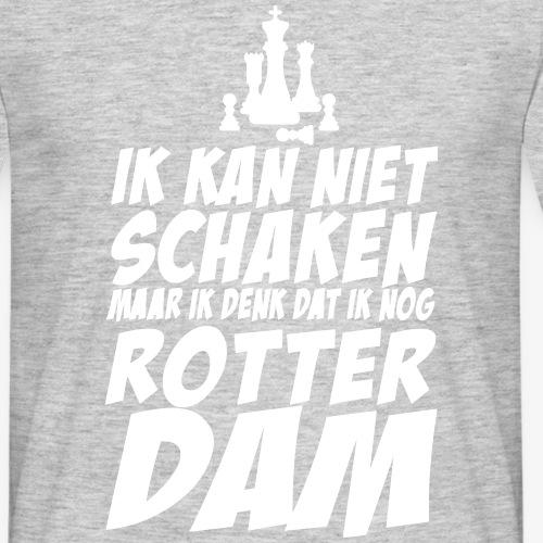 schaken - Mannen T-shirt