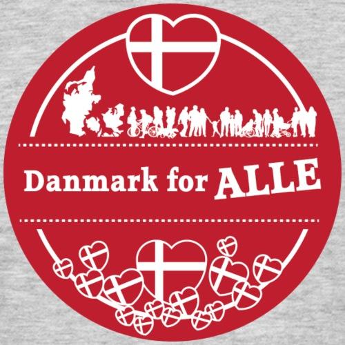 Danmark for ALLE - Herre-T-shirt