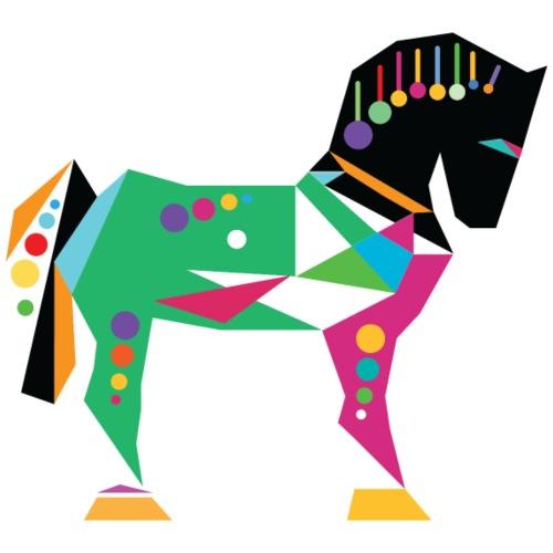 Cavallo di Troia Decorato - Maglietta da uomo
