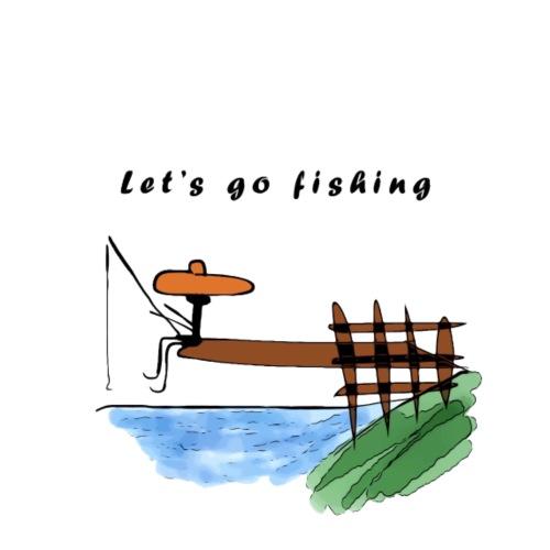 Let's go fishing - Men's T-Shirt