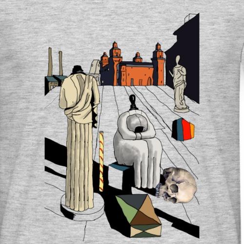 OK giorgio de chirico crane dessin 2 png - T-shirt Homme