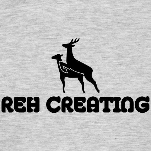 Reh Creating - Männer T-Shirt