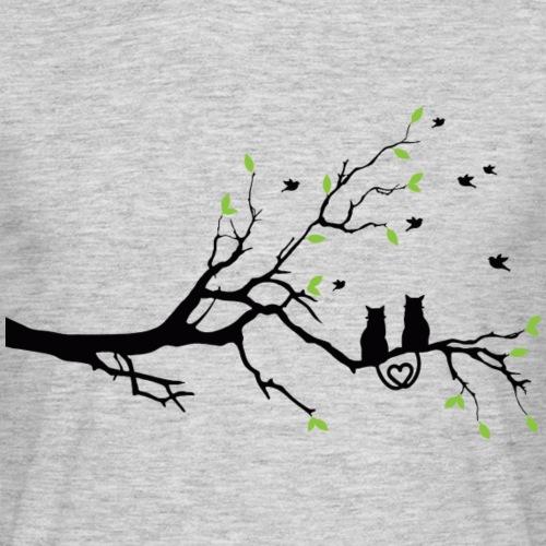 Micaten Katzenliebe - Männer T-Shirt