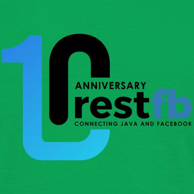 10years RestFB - anniversary logo
