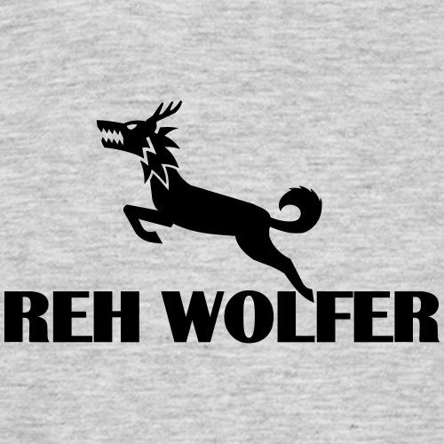 Reh Wolver - Männer T-Shirt