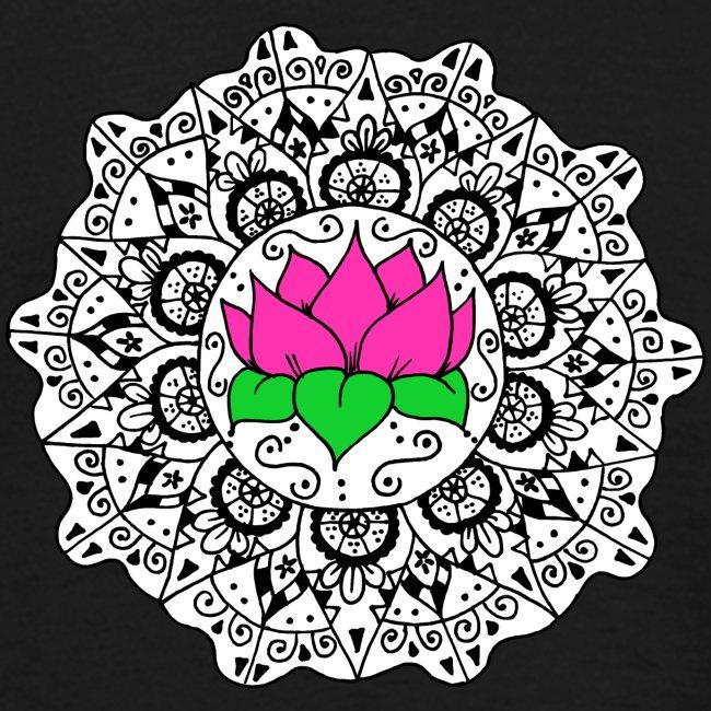 Lotus Flower Mandala
