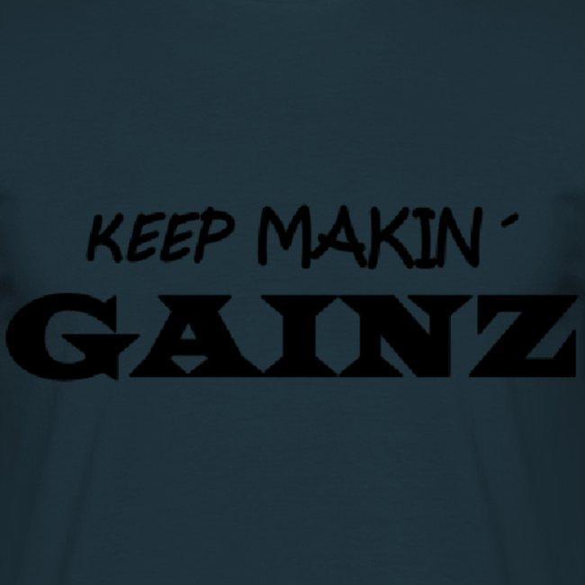 KeepMakin'Gainz_black
