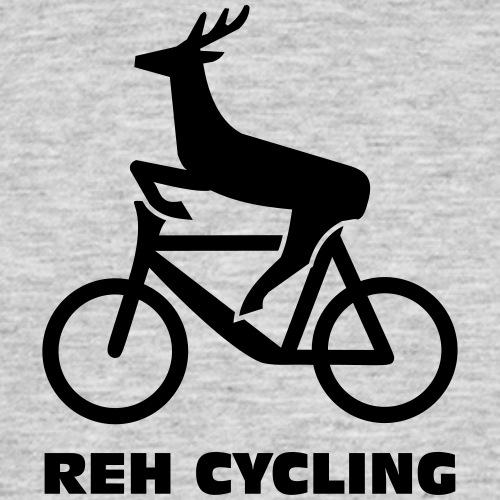 Reh cycling - Männer T-Shirt