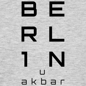 BERLIN u akbar - T-skjorte for menn
