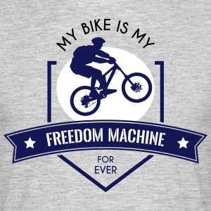 Freedom Machine - Mannen T-shirt