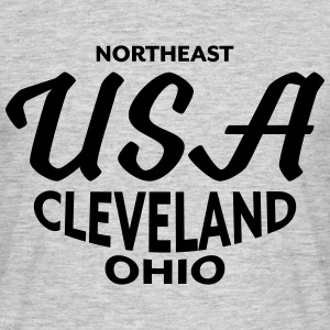 Northeast USA Cleveland Ohio - CLEVELAND SHIRTS - T-shirt herr