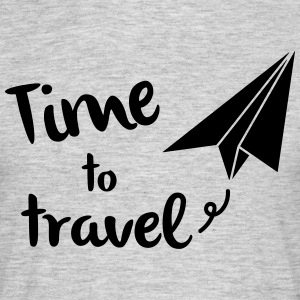 Time to travel - Men's T-Shirt