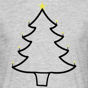 kerstboom - Mannen T-shirt