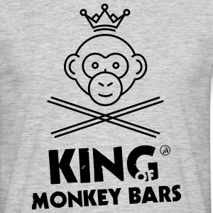 King of Monkey Bars - Men's T-Shirt