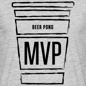 Beer Pong MVP - T-skjorte for menn