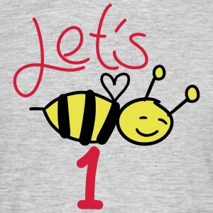 let's bee 1 - Men's T-Shirt