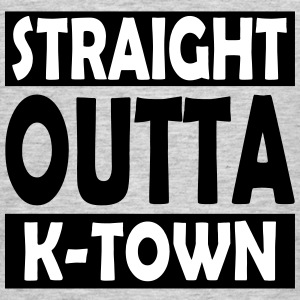 Straight Outta K-Town - Herre-T-shirt