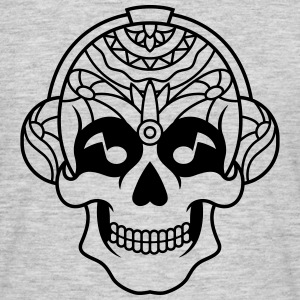 Sugar Skull Mexican music headphone / sugarskull - Men's T-Shirt