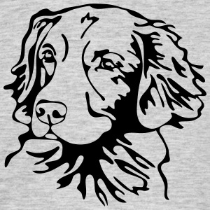 Nova Scotia Duck Tolling Retriever PORTRAIT - Men's T-Shirt