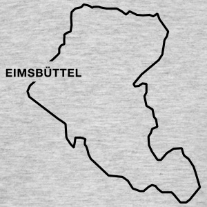 Eimsbüttel Border - Men's T-Shirt