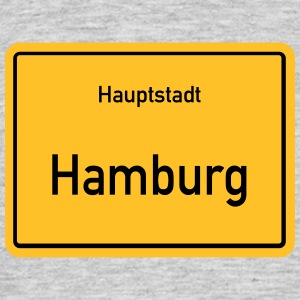 kapital Hamburg - T-skjorte for menn