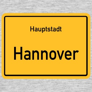 City of Hannover - T-skjorte for menn
