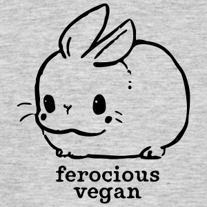 Ferocious vegan - Men's T-Shirt