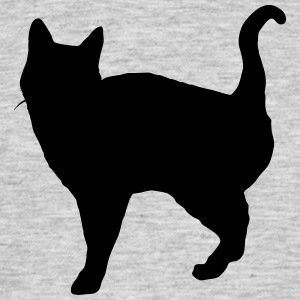 Vector Cat Silhouette - T-shirt Homme