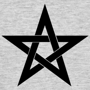 Pentagram, pentacle, magic, symbol, witchcraft - Men's T-Shirt