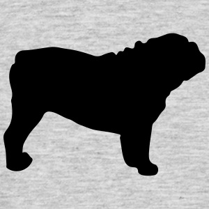 ENGLISH BULLDOG - ENGLISH BULLDOG Silhouette - Men's T-Shirt