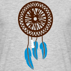 LUCKY INDIAN - Mannen T-shirt