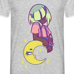 Pp and the Moon - Men's T-Shirt
