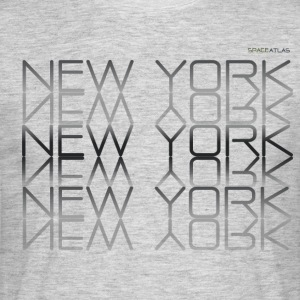 Raum Atlas T-Shirt New York New York - Männer T-Shirt