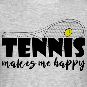 tennis - Herre-T-shirt