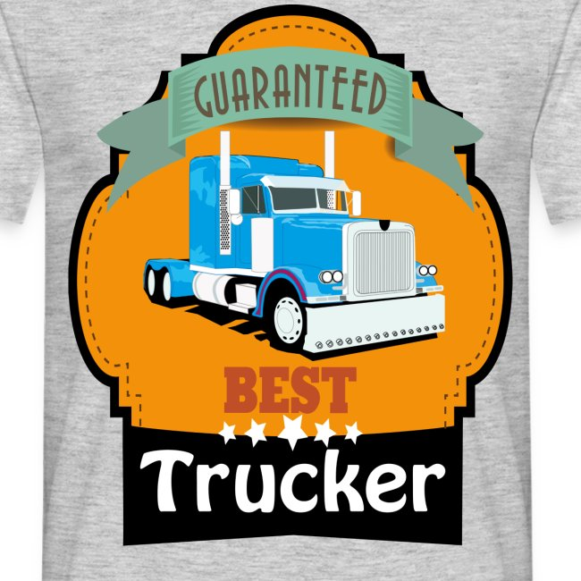 Best Trucker, Lkw Trucker Design
