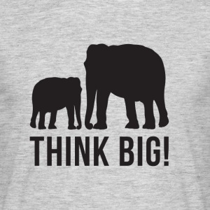 Think BIG 2 - Männer T-Shirt