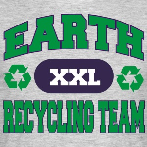 Earth Day Recycle équipe - T-shirt Homme