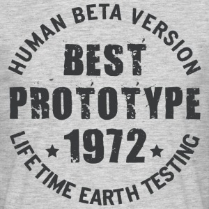 1972 - The year of birth of legendary prototypes - Men's T-Shirt