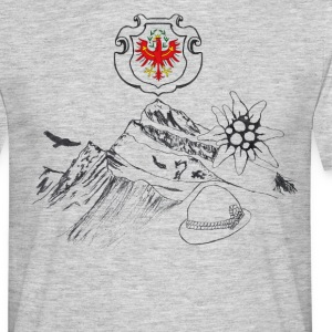 Tyrolean home - Men's T-Shirt