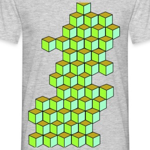 Impossible Cube T-Shirts - Men's T-Shirt