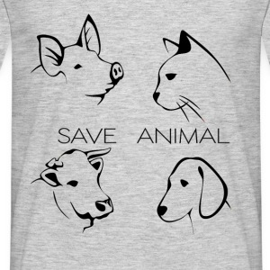 Save Animal - Männer T-Shirt