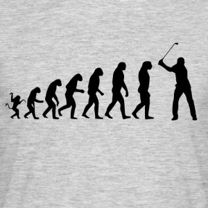 Golf Evolution Tshirt - Herre-T-shirt