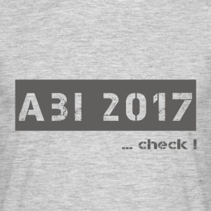 abi 2017 - T-skjorte for menn