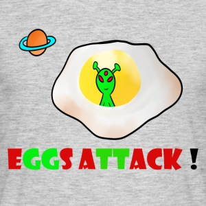 Eggs attack - T-shirt Homme