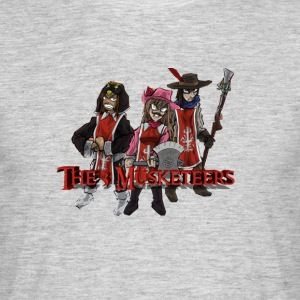 3 Musketeers - Men's T-Shirt