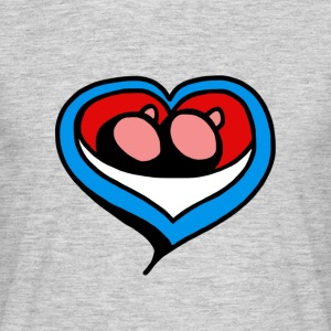 heart minne - Men's T-Shirt