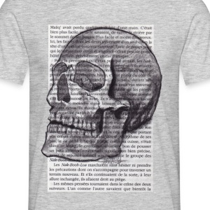SKULL - T-skjorte for menn