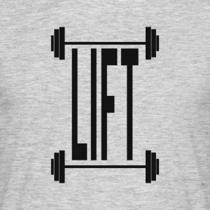 lift - T-skjorte for menn