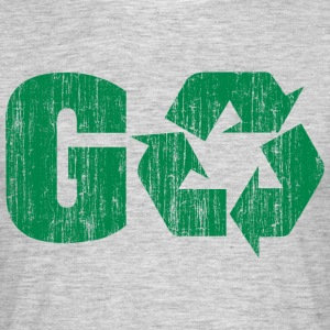 Earth Day Recycle Go Green - Männer T-Shirt